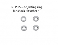 Einstellring Dämpfer / Adjusting ring for shock absorber 4Stück  5059